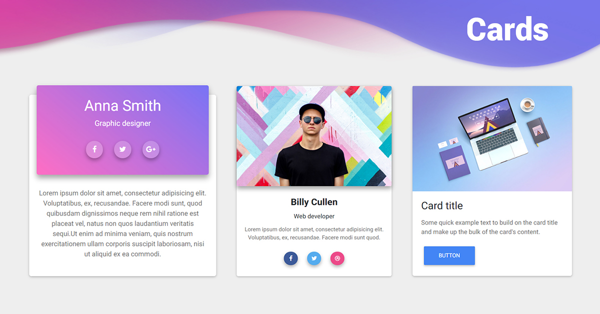 کارت ها در بوت استرپ4